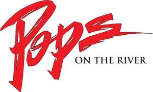 Pops on the River Logo