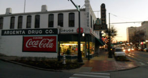 Argenta Arts District historic argenta drug store